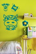 Funny Cows Kids and Child's Room Wall Stickers
