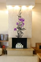 Giant Flowers - Colorful Wall Sticker