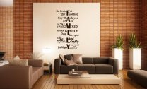 JC Design 'FAMILY' - Amazing Huge Quotes Wall Sticker