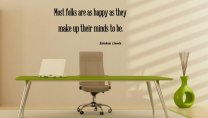 JC Design 'Most folks are as happy as they make up their minds to be.' A.Lincoln