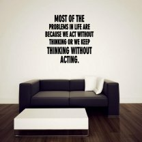 JC Design 'Most of the problems in life are because we act without thinking...'