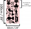 Set Of Cute Cats And Mouses Adorable Wall Sticker High Quality Decals