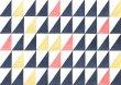 Watercolour Triangles Geometric Scandinavian Print Modern Nordic Poster